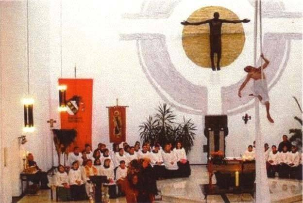 Nueva Misa inválida promulgada por Pablo VI el 3 de abril de 1969.