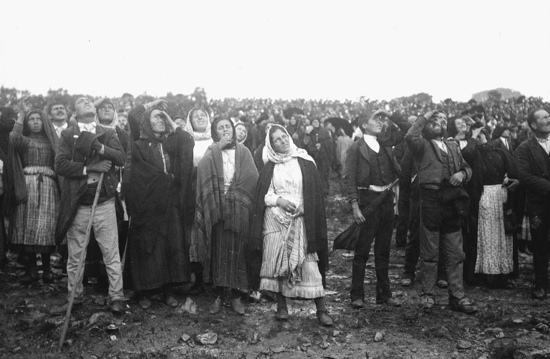 Milagro del Sol - 13 de octubre de 1917 en Fátima