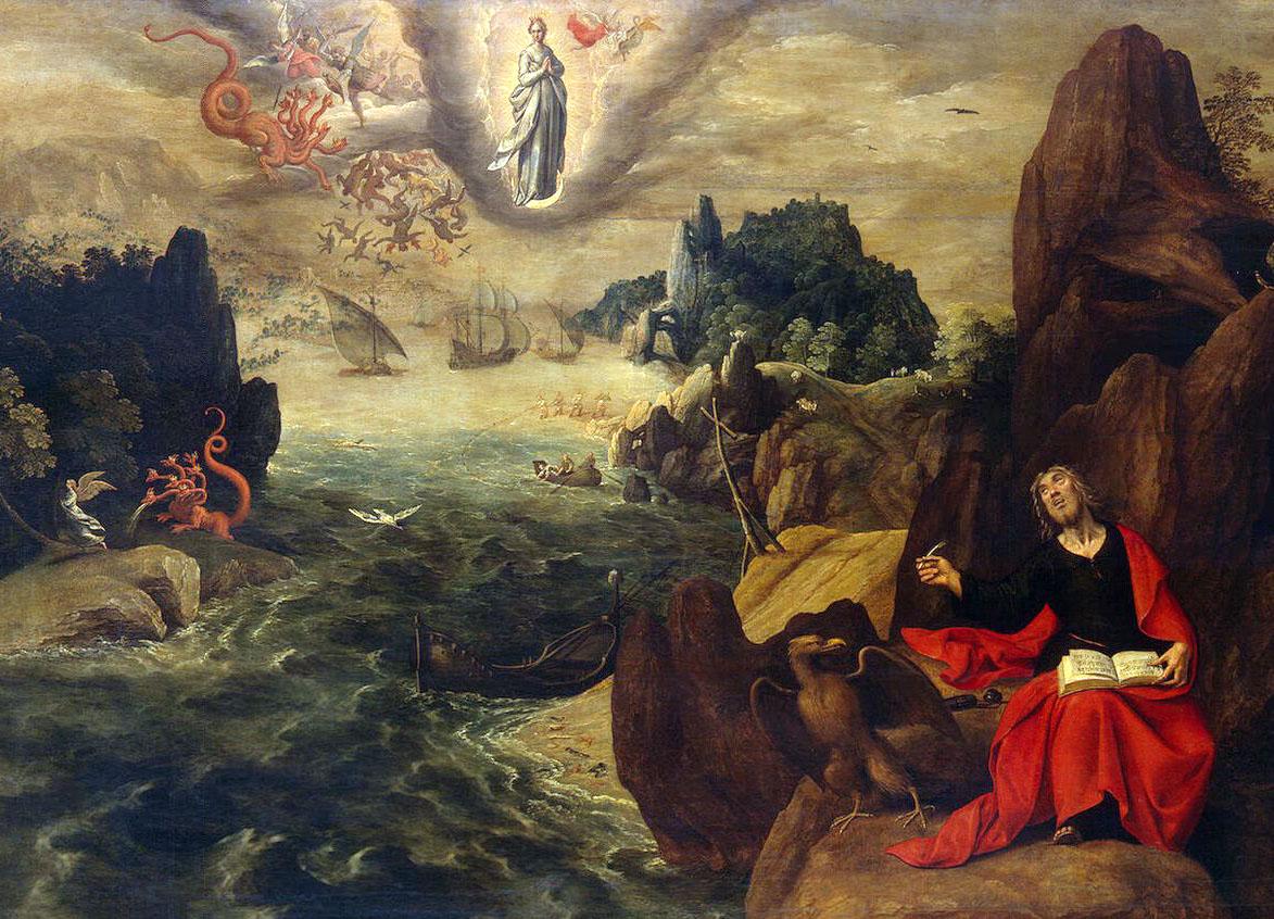 San Juan - Apocalipsis - Gran Dragón Rojo